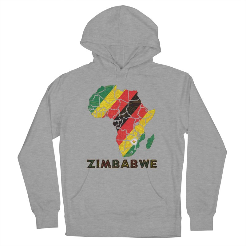 Zimbabwe Women's French Terry Pullover Hoody by immerzion's t-shirt designs