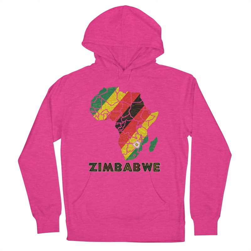 Zimbabwe Men's French Terry Pullover Hoody by immerzion's t-shirt designs