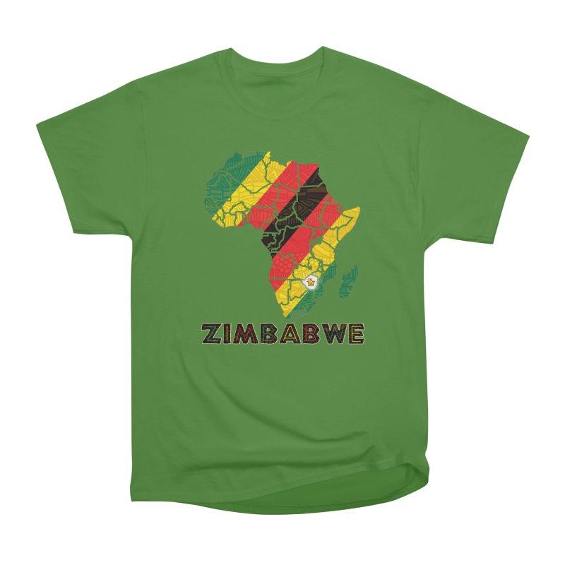 Zimbabwe Men's Classic T-Shirt by immerzion's t-shirt designs