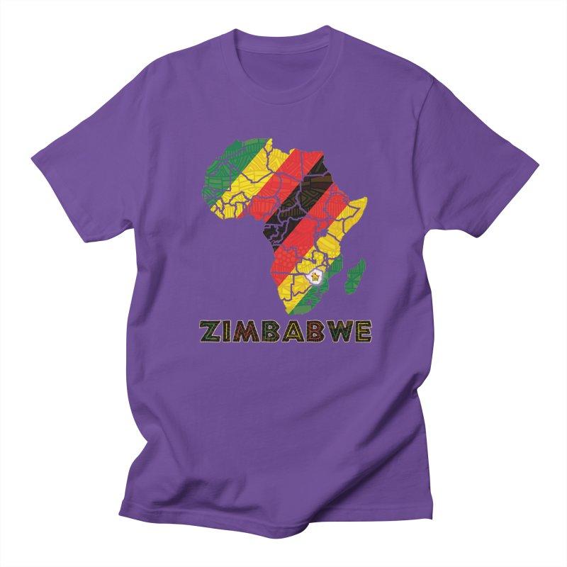 Zimbabwe Women's Unisex T-Shirt by immerzion's t-shirt designs