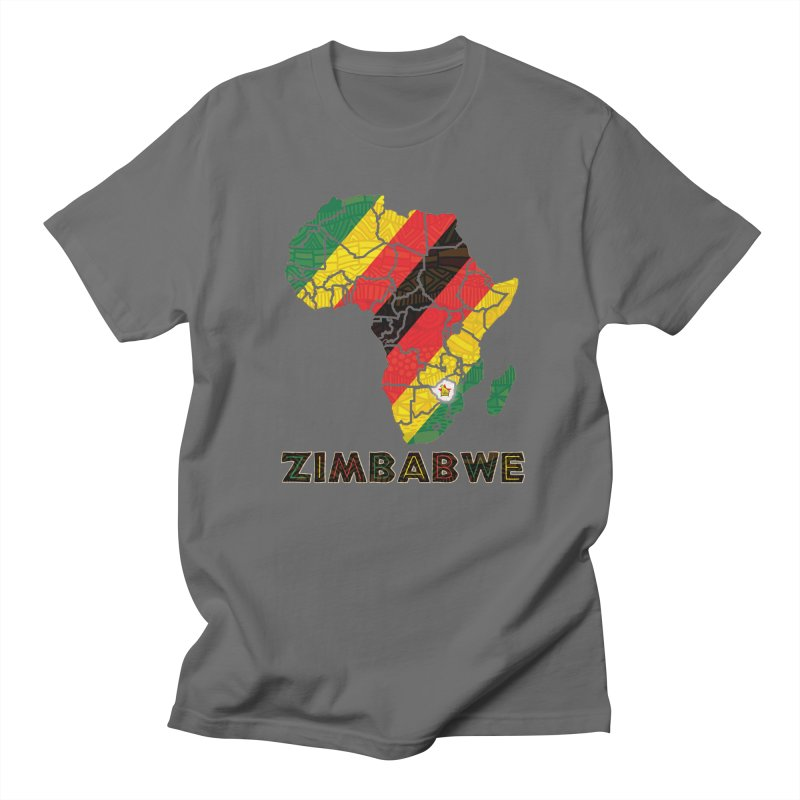 Zimbabwe Women's Regular Unisex T-Shirt by immerzion's t-shirt designs