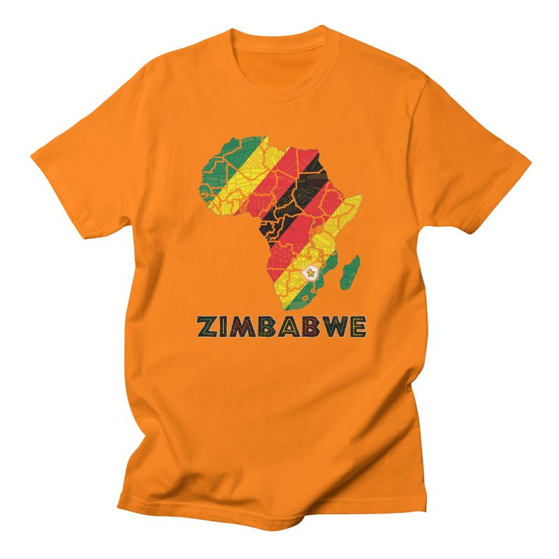 Zimbabwe Men's T-Shirt by immerzion's t-shirt designs