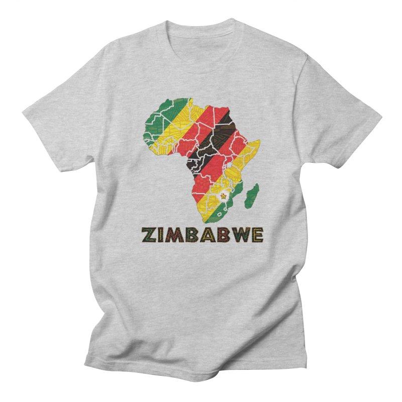 Zimbabwe Women's Regular Unisex T-Shirt by immerzion's t-shirt designs