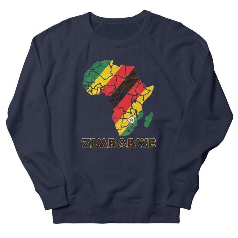 Zimbabwe Women's French Terry Sweatshirt by immerzion's t-shirt designs