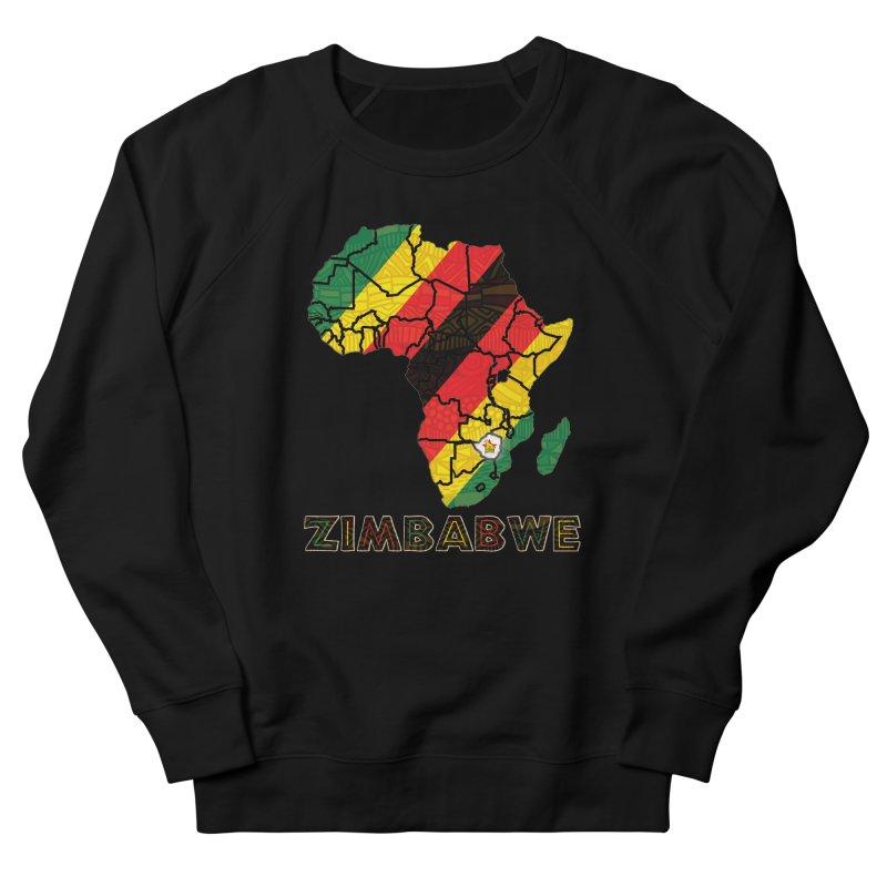 Zimbabwe Men's French Terry Sweatshirt by immerzion's t-shirt designs