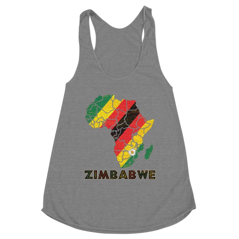 Zimbabwe Women's Tank by immerzion's t-shirt designs