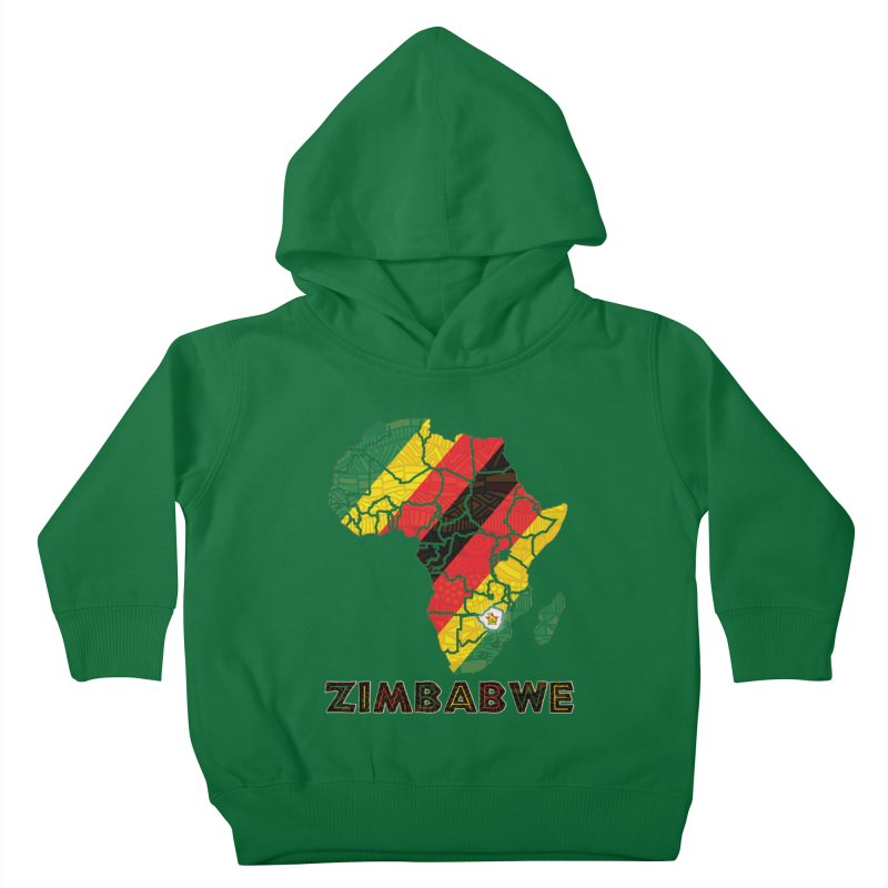 Zimbabwe Kids Toddler Pullover Hoody by immerzion's t-shirt designs