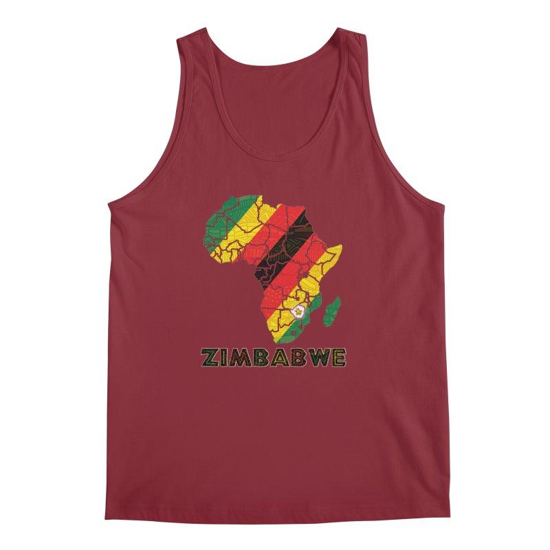 Zimbabwe Men's Tank by immerzion's t-shirt designs