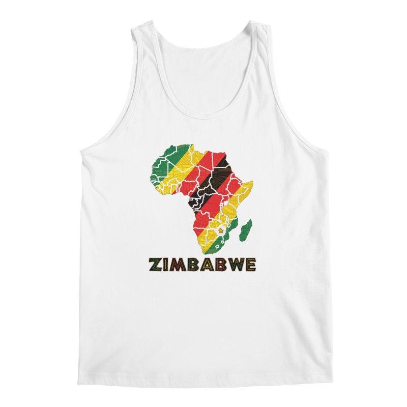 Zimbabwe Men's Regular Tank by immerzion's t-shirt designs