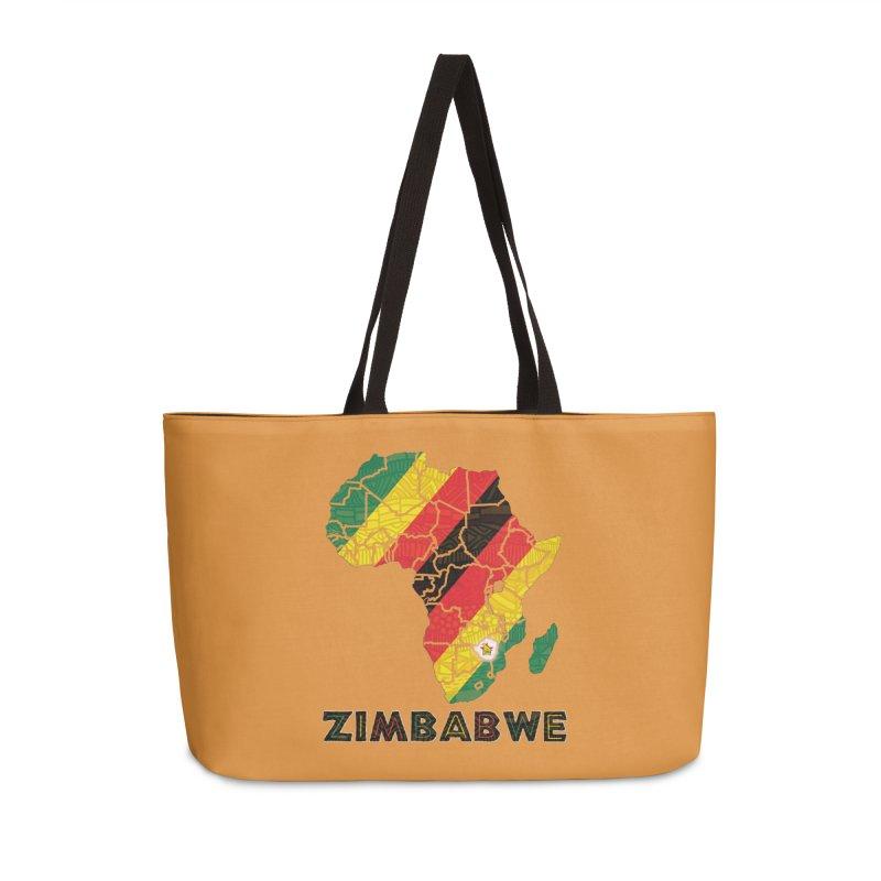 Zimbabwe Accessories Weekender Bag Bag by immerzion's t-shirt designs