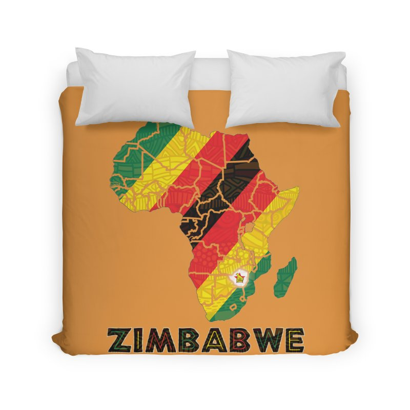 Zimbabwe Home Duvet by immerzion's t-shirt designs