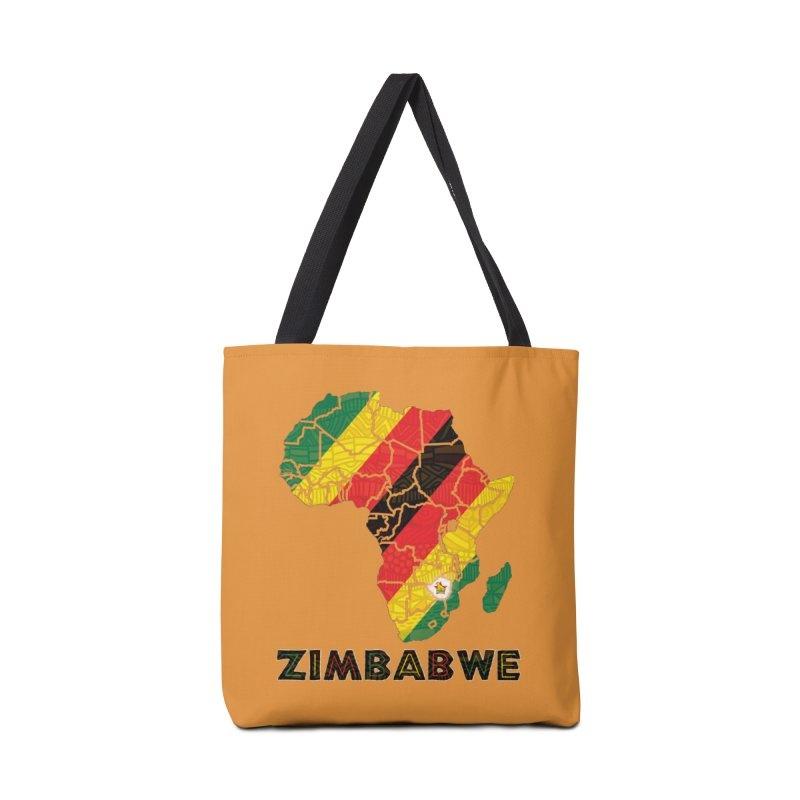 Zimbabwe Accessories Tote Bag Bag by immerzion's t-shirt designs