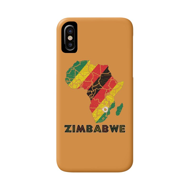 Zimbabwe Accessories Phone Case by immerzion's t-shirt designs