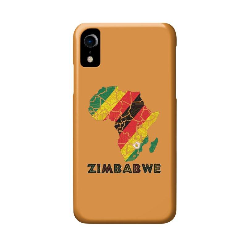 Zimbabwe Accessories Phone Case by immerzion's t-shirt designs