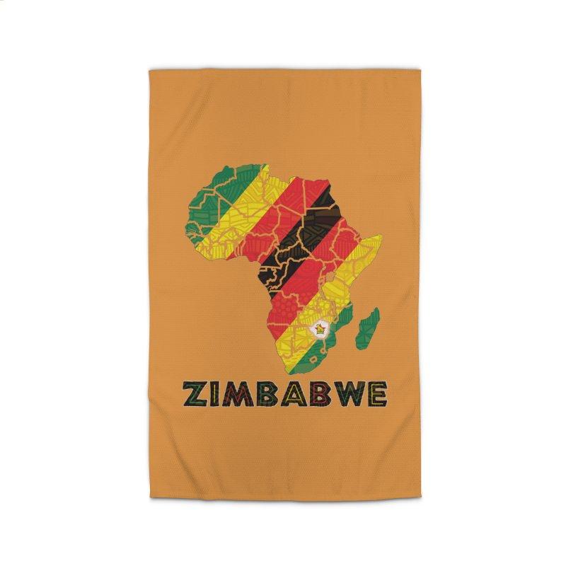 Zimbabwe Home Rug by immerzion's t-shirt designs