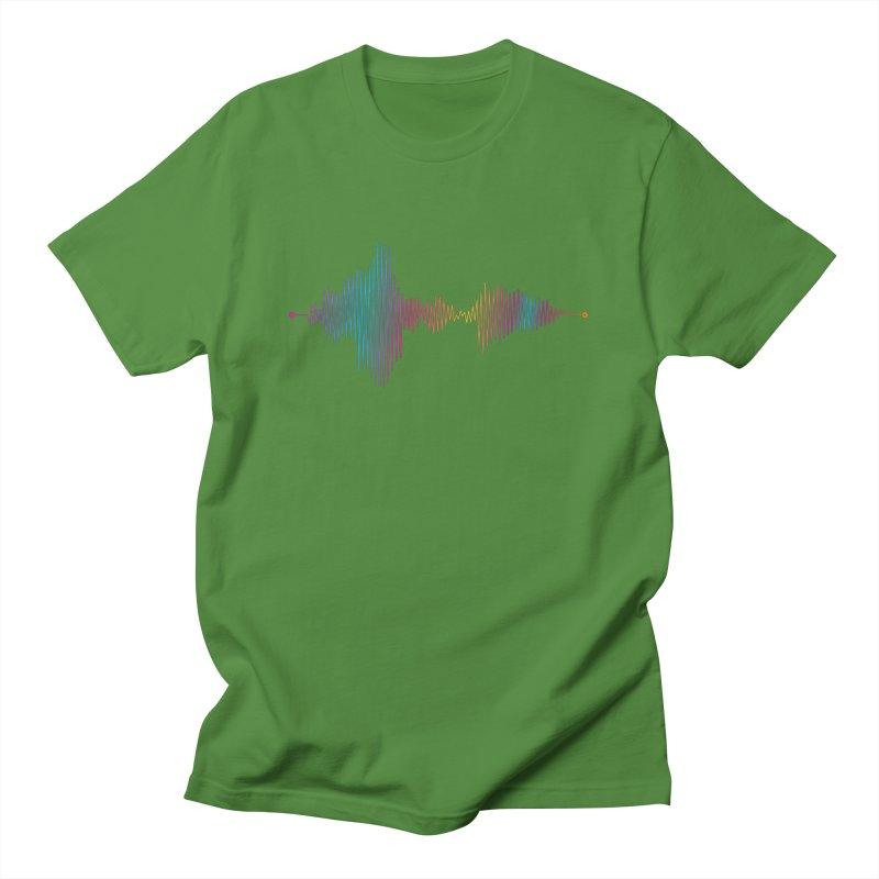 Waveform Men's T-Shirt by immerzion's t-shirt designs