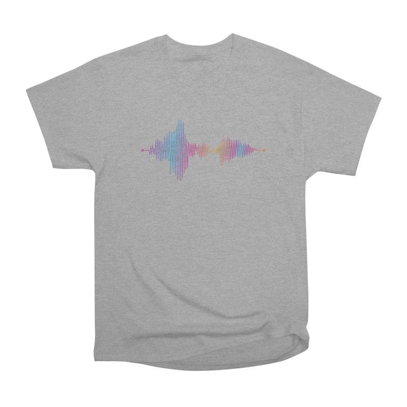 Waveform Men's Classic T-Shirt by immerzion's t-shirt designs