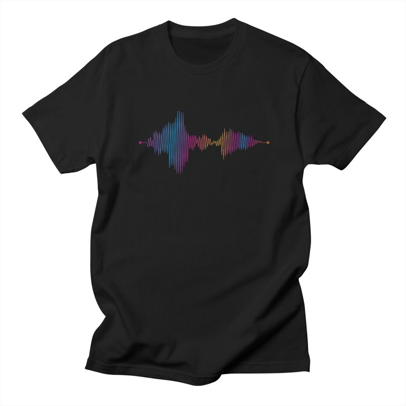 Waveform Men's T-Shirt by immerzion's t-shirt designs