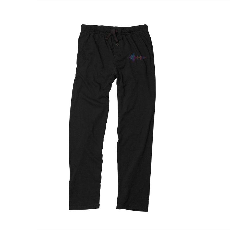 Waveform Men's Lounge Pants by immerzion's t-shirt designs