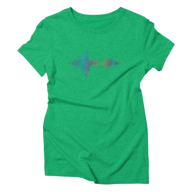 Waveform Women's T-Shirt by immerzion's t-shirt designs