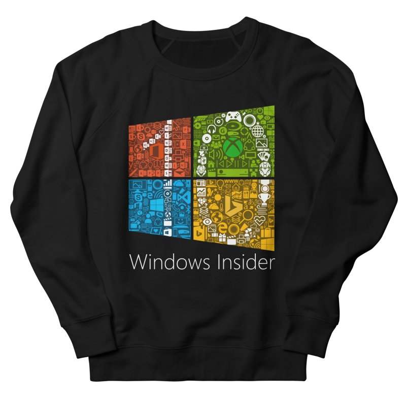 Windows Insider T-Shirt Women's Sweatshirt by immerzion's t-shirt designs