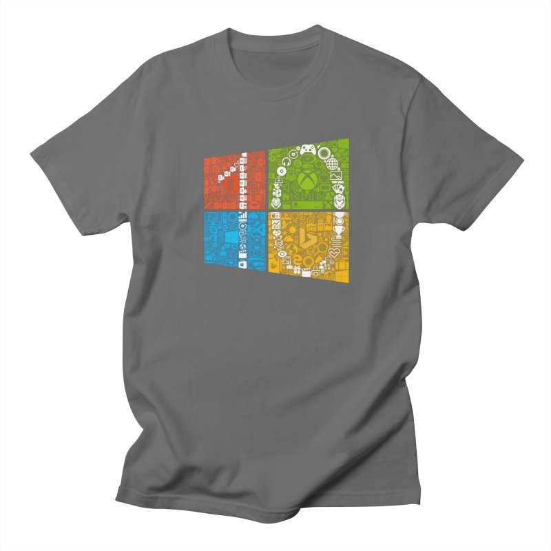 Windows 10 Insider in Men's T-Shirt Asphalt by immerzion's t-shirt designs