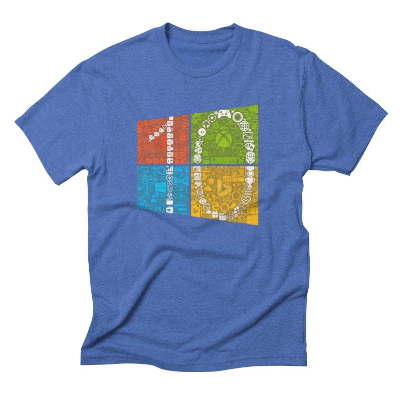 Windows 10 Insider Men's Triblend T-shirt by immerzion's t-shirt designs