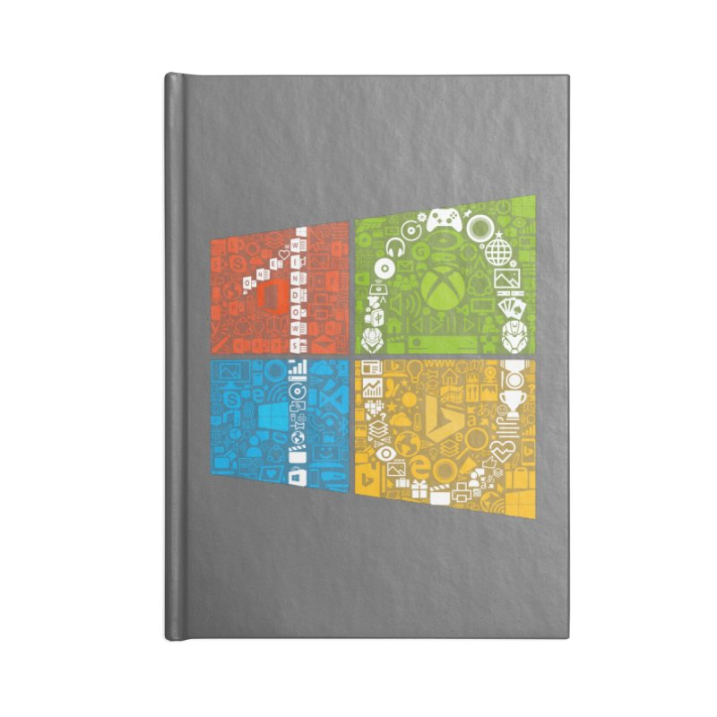 Windows 10 Insider Accessories Notebook by immerzion's t-shirt designs