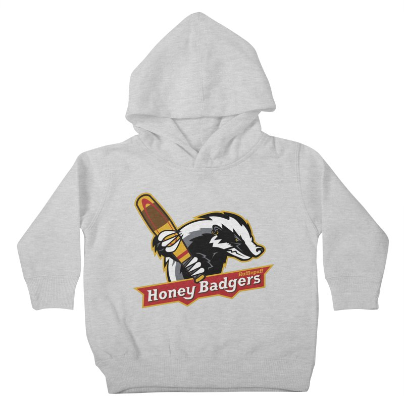 Hufflepuff Honey Badgers Kids Toddler Pullover Hoody by immerzion's t-shirt designs