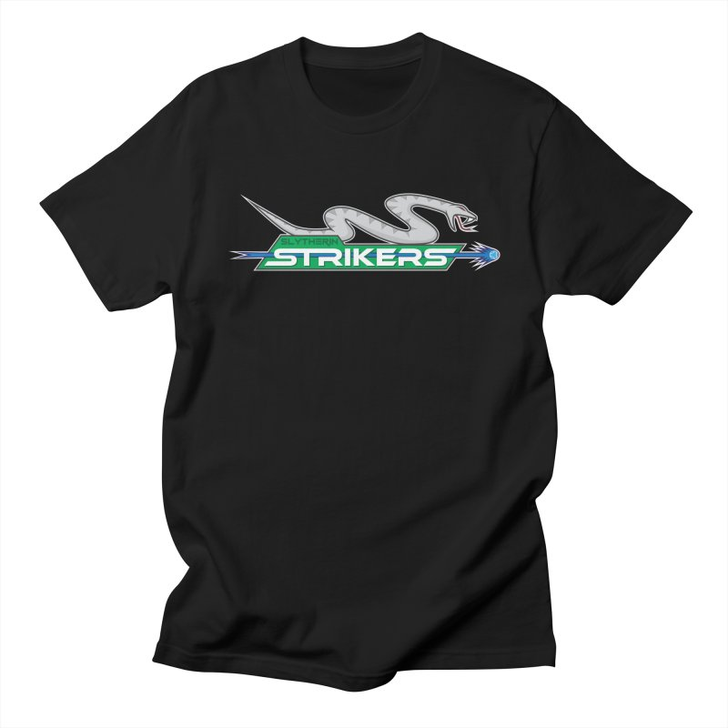 Slytherin Strikers in Men's T-shirt Black by immerzion's t-shirt designs