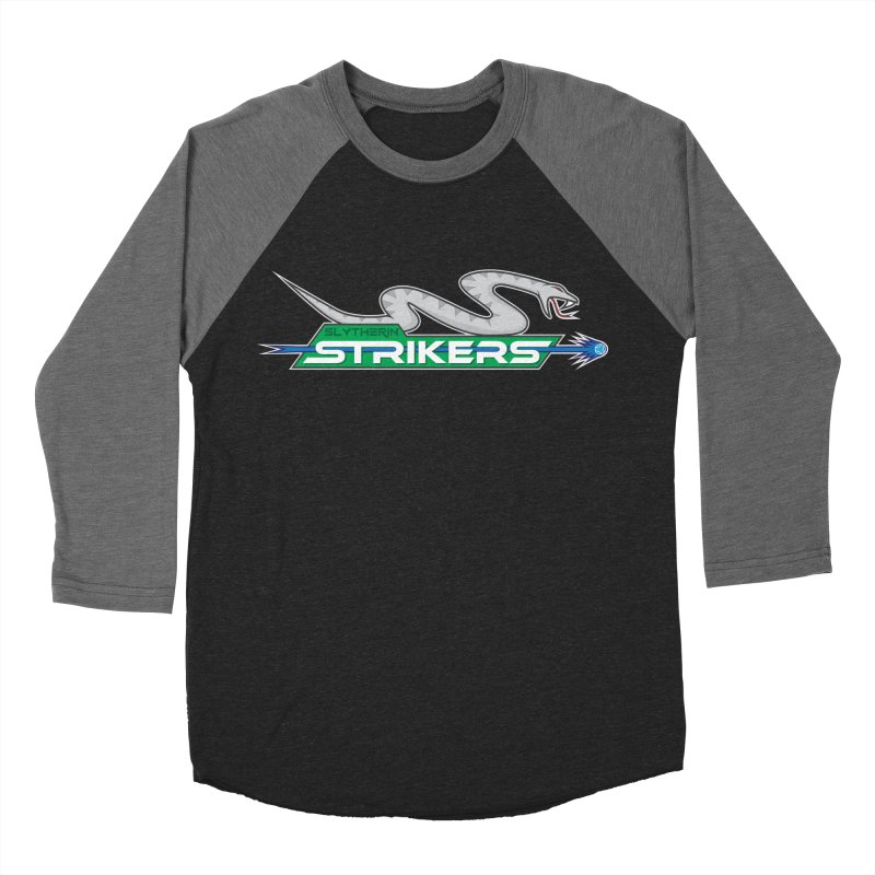 Slytherin Strikers Men's Baseball Triblend T-Shirt by immerzion's t-shirt designs