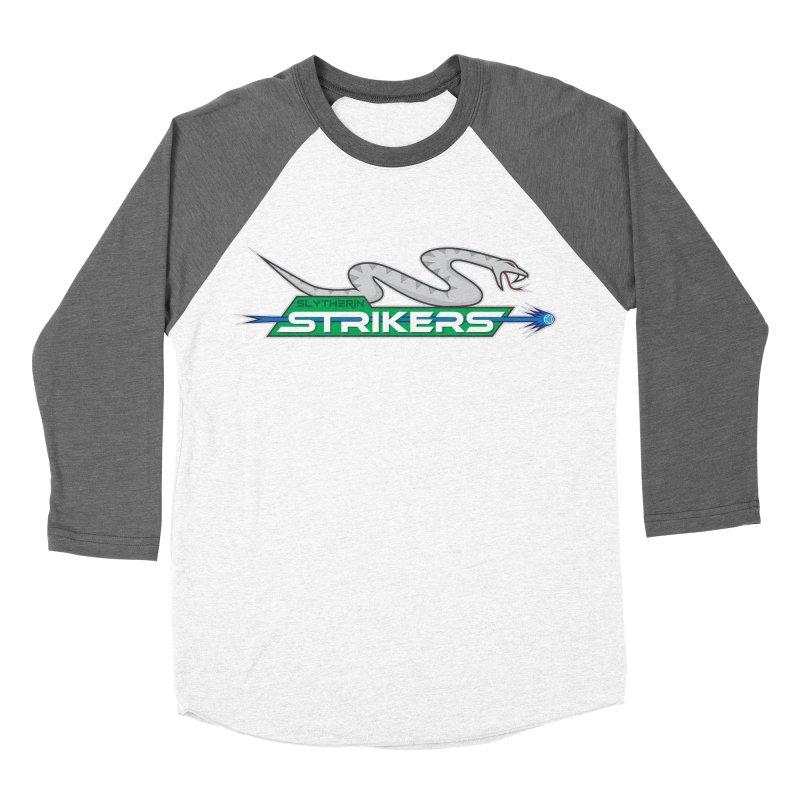 Slytherin Strikers Men's Baseball Triblend T-Shirt by immerzion's t-shirt designs