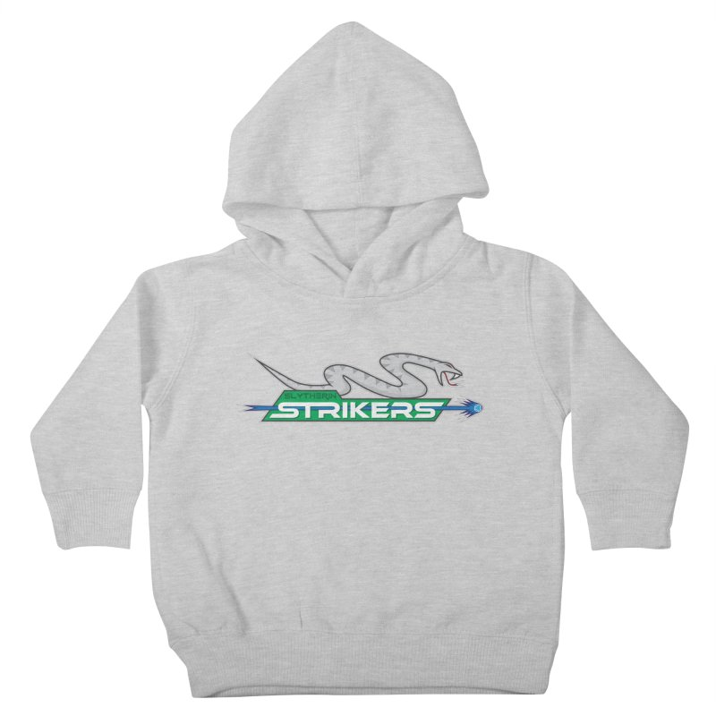 Slytherin Strikers Kids Toddler Pullover Hoody by immerzion's t-shirt designs