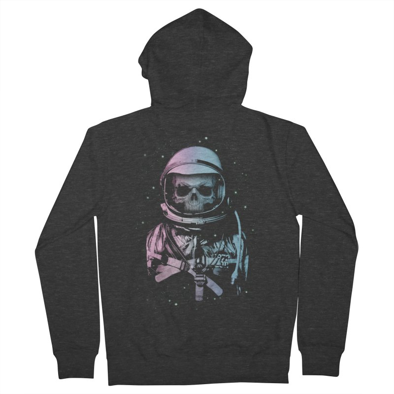 Death In Space Women's Zip-Up Hoody by immortalized's Artist Shop