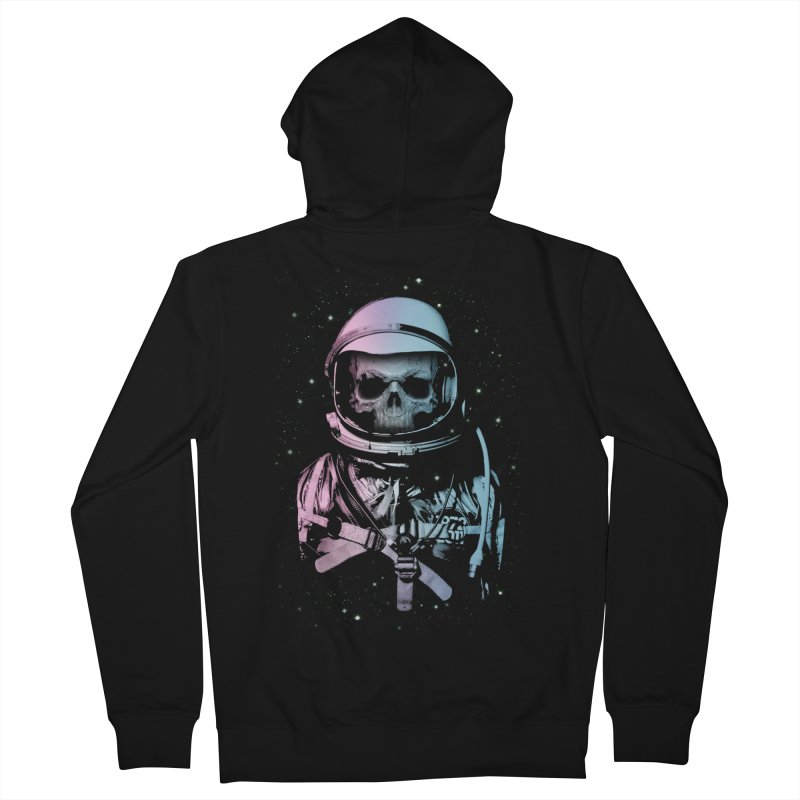 Death In Space Men's Zip-Up Hoody by immortalized's Artist Shop
