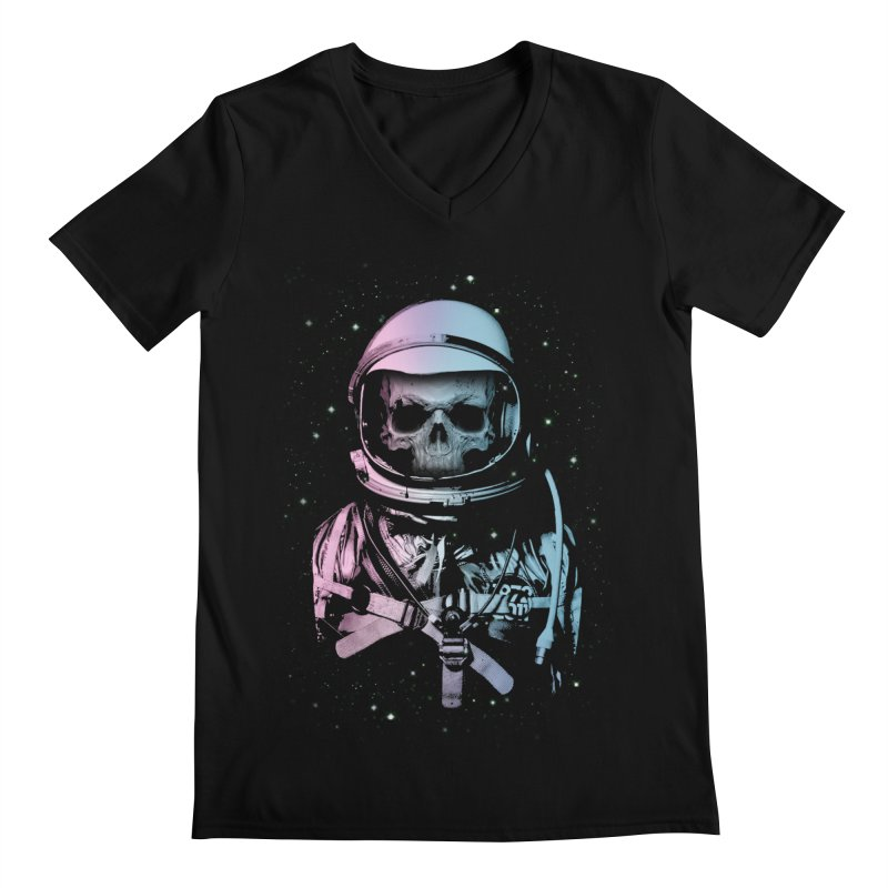 Death In Space Men's V-Neck by immortalized's Artist Shop