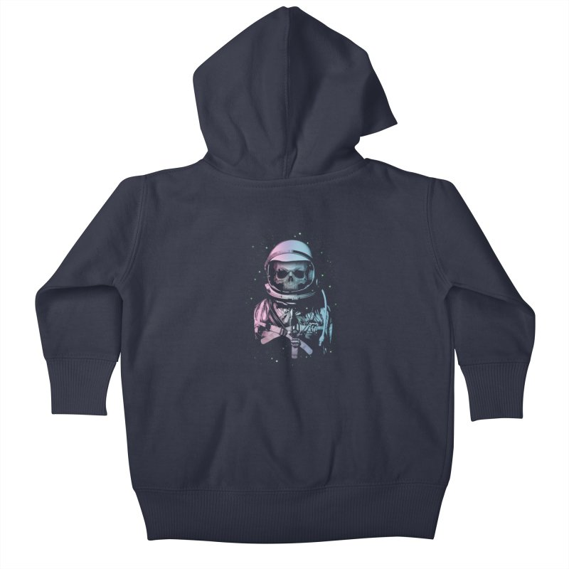 Death In Space Kids Baby Zip-Up Hoody by immortalized's Artist Shop