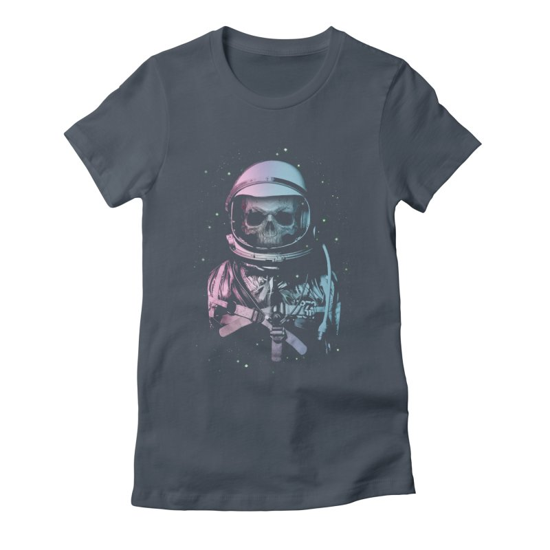 Death In Space Women's Fitted T-Shirt by immortalized's Artist Shop