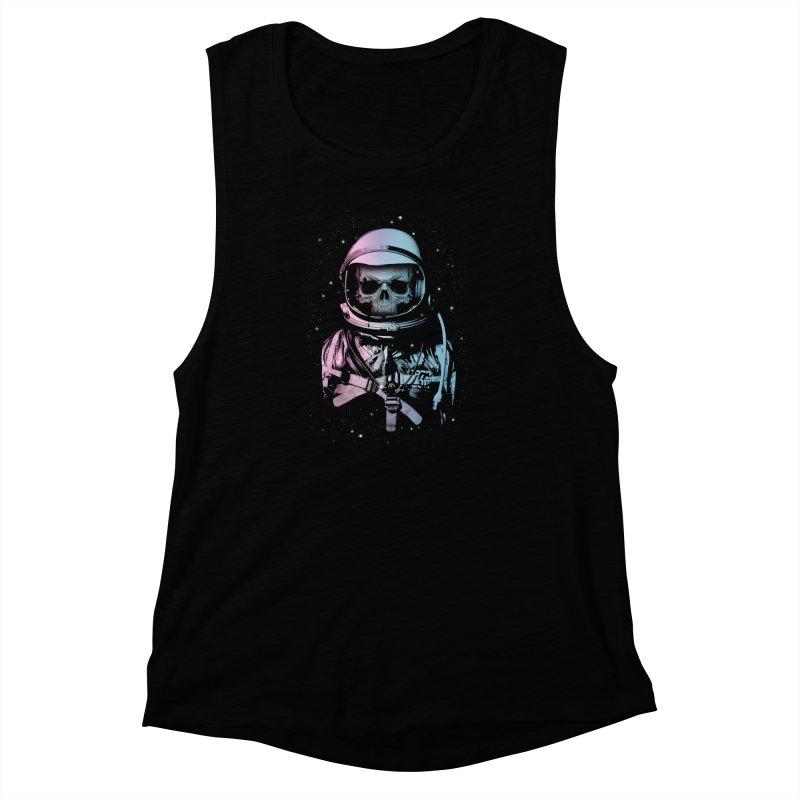 Death In Space Women's Muscle Tank by immortalized's Artist Shop