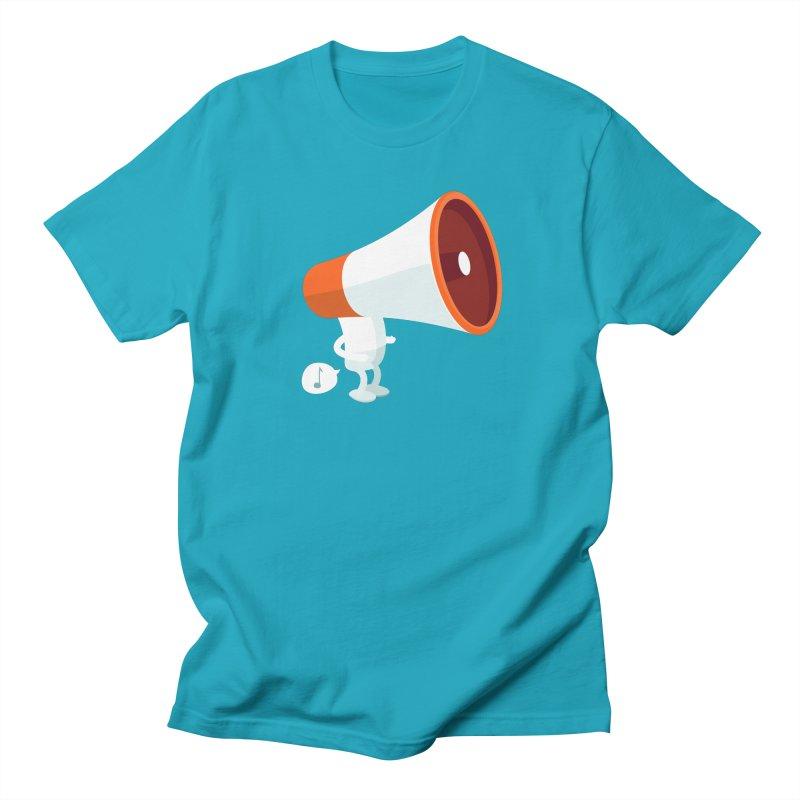 Megaphone Men's T-Shirt by cospell's Artist Shop