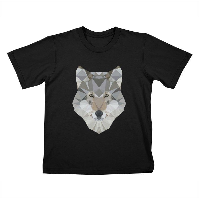 Dawolf Kids T-Shirt by cospell's Artist Shop