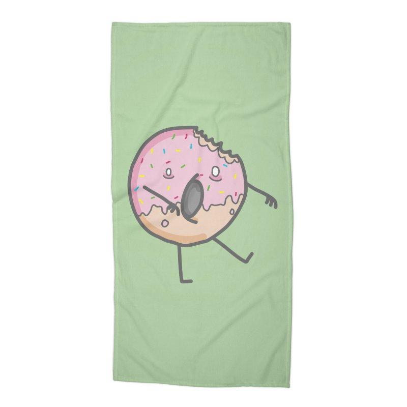 Deadonut Accessories Beach Towel by cospell's Artist Shop