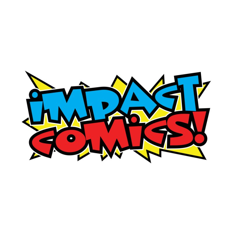 Impact Comics Colour Star logo Men's V-Neck by Impact Comics official merch shop