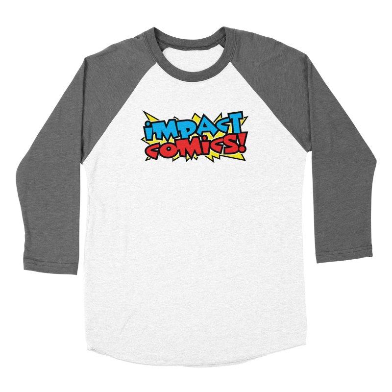 Impact Comics Colour Star logo Women's Longsleeve T-Shirt by Impact Comics official merch shop
