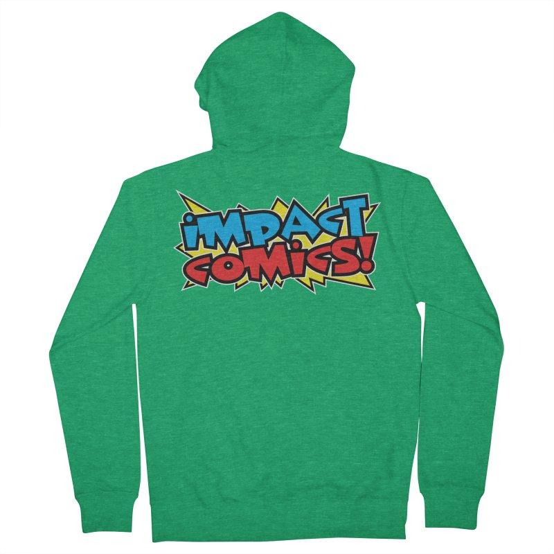 Impact Comics Colour Star logo Men's Zip-Up Hoody by Impact Comics official merch shop