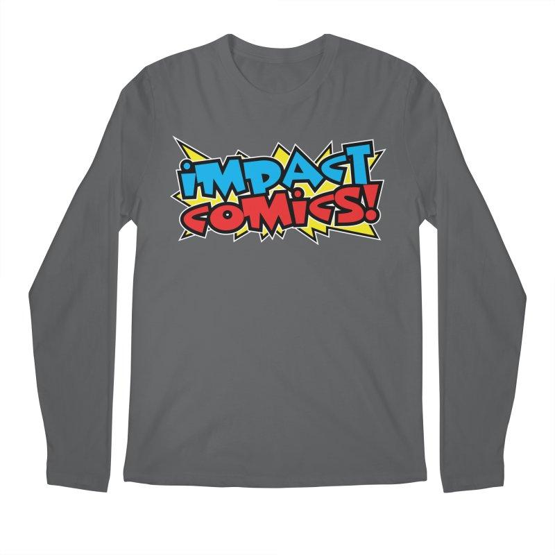 Impact Comics Colour Star logo Men's Longsleeve T-Shirt by Impact Comics official merch shop