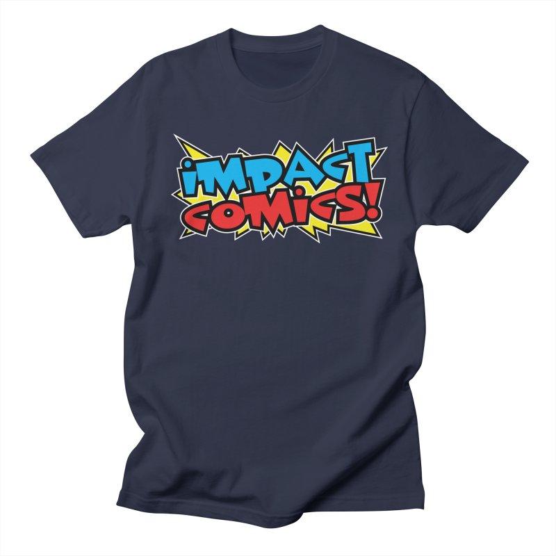 Impact Comics Colour Star logo Men's T-Shirt by Impact Comics official merch shop