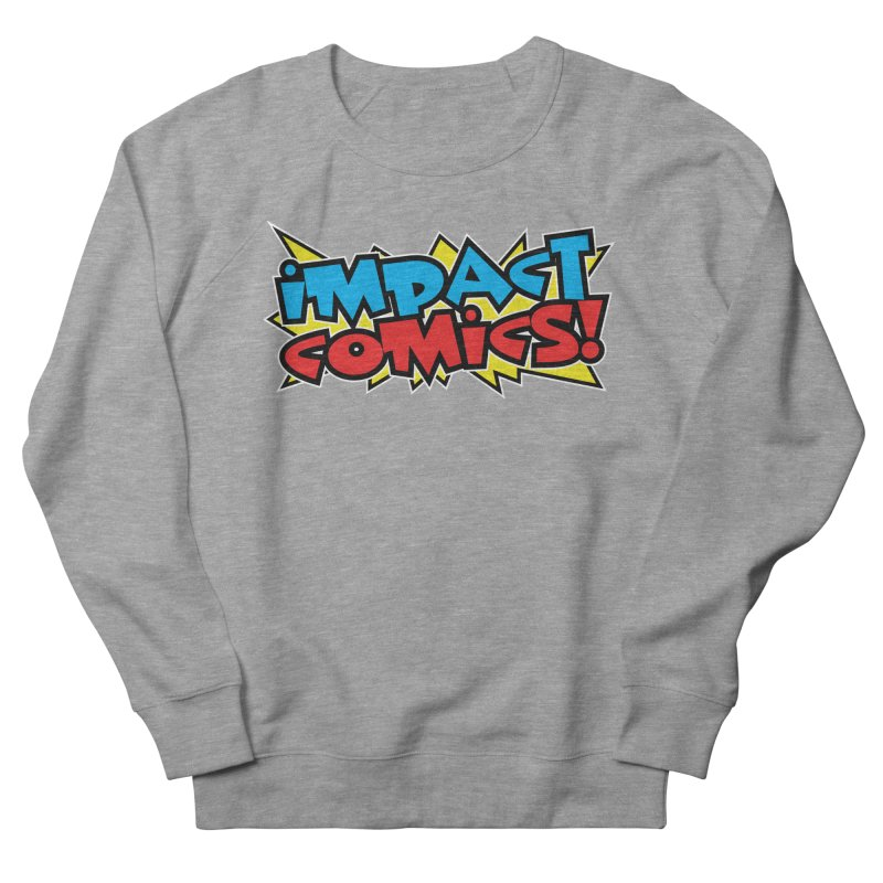 Impact Comics Colour Star logo in Men's French Terry Sweatshirt Heather Graphite by Impact Comics official merch shop