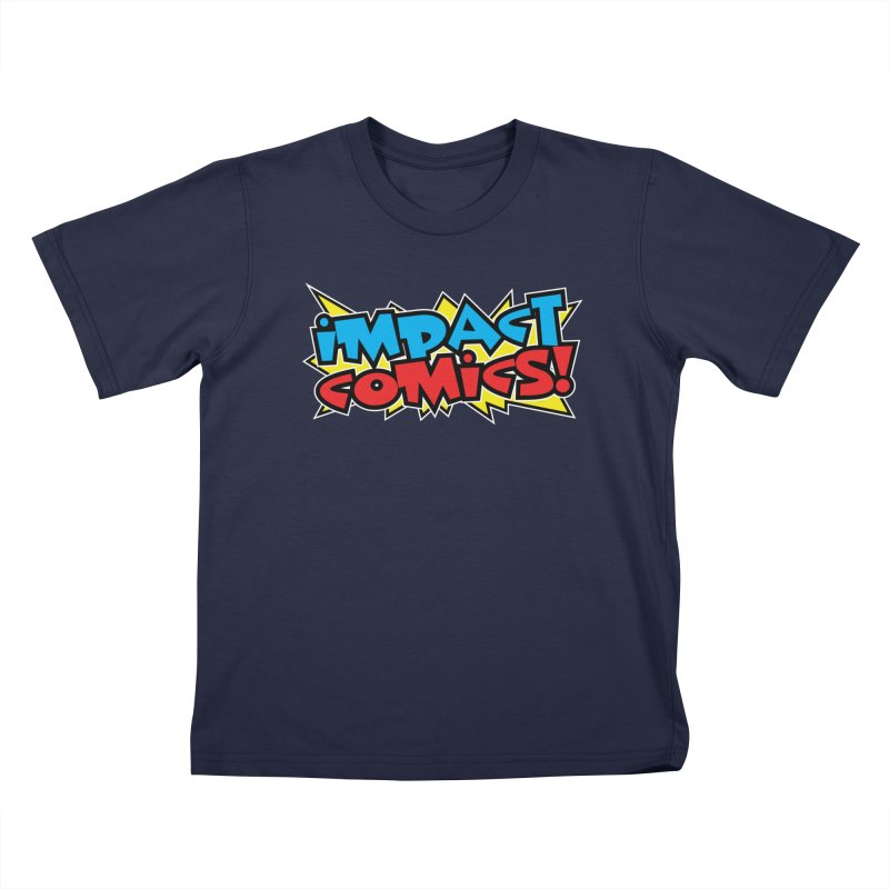 Impact Comics Colour Star logo Kids T-Shirt by Impact Comics official merch shop