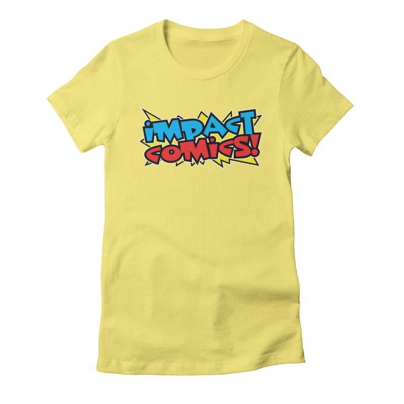 Impact Comics Colour Star logo Women's T-Shirt by Impact Comics official merch shop